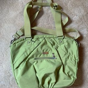 Bagallini small messenger/commuter bag.